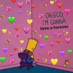 Once you love someone you love them forever - - - - for more cute memes xox - - - - Cartoon Memes, Funny Memes, Bf Memes, Cartoon Pics, Stupid Memes, Sapo Meme, Heart Meme, Heart Emoji, Cute Love Memes