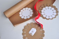 paper punch doilies