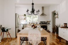 You Have To See This Beautiful + Serene Kansas City Home Tiny Dining Rooms, Dining Room Design, Kitchen Design, Design A Space, House Design, House Tours, Interior Inspiration, Home Goods, Sweet Home