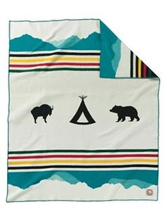 Love this Pendleton Blanket. I want all of the National Parks Blankets!