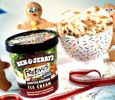 ... brown sugar ice cream loaded with gingerbread cookies and ginger