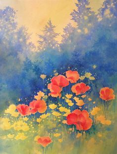 Galleries of Available Paintings - Alexis Lavine: Luminous Watercolors