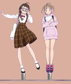 Kai Fine Art is an art website, shows painting and illustration works all over the world. Art Anime, Anime Art Girl, Manga Girl, Anime Girls, Character Design Cartoon, Character Design Inspiration, Character Art, Friend Anime, Cute Art Styles