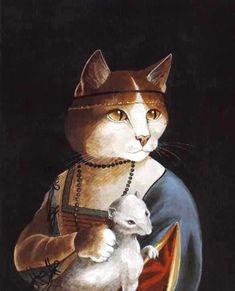 Tesoromio Dos Santos, il gatto venuto dal Brasile » Artisti & Felini, ovvero la Cat-Art