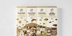 Sabadì – I Torroni — Enjoy the narrative through a series of packages. The narrative is further explored inside the packaging as well which is awesome.
