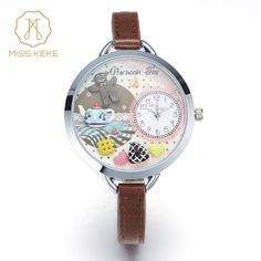 Cheap wristwatch children, Buy Quality wristwatch quartz watch directly from China wristwatch kids Suppliers: MISS KEKE montre enfant Clay Cute Mini World Cookie Unique Teapot Gift Watch 2017 kids Children Quartz Leather Wristwatches 863 Best Kids Watches, Cute Watches, Children's Watches, Dress Watches, Ladies Bracelet Watch, Teapots Unique, Quartz Watch, Fashion Watches, Cookies Et Biscuits