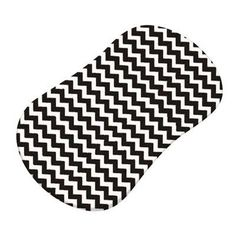 Sheetworld Zigzag Fitted Bassinet Sheet Color: