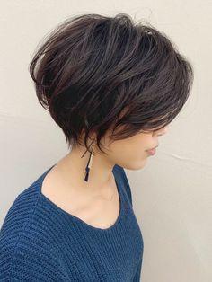 Short Messy Haircuts, Pixie Haircut For Thick Hair, Short Choppy Hair, Asian Short Hair, Thin Hair Haircuts, Short Hair With Layers, Cut My Hair, Hairstyles Haircuts, Short Hair Cuts