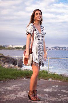 Street style Fashion Rio Verão 2014 - folk