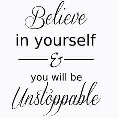 Dagens #word #tro #fitness #sportkost #sport #believe #neverstop #mål #instagood #inspiration #motivation