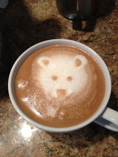 Curious Bear Latte Art