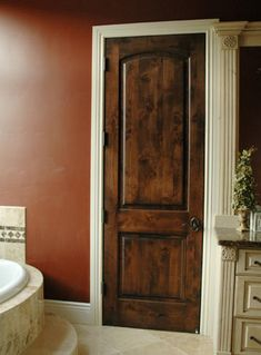 Solid Maple Sante Fe 8 Ft Interior Wooden Doors Ideas | Home Decor Style |  Pinterest | Wood Interior Doors, Wood Interiors And Doors