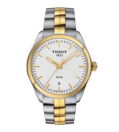 f6bb1941404 Check out the deal on Tissot PR 100 Two-Tone Quartz Women s Watch at  Borsheims. Jonathan Geeves Jewellers