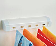 Varal Automático - 5 cordas - Praticidade e comodidade na hora de secar suas roupas! - Área de Serviço