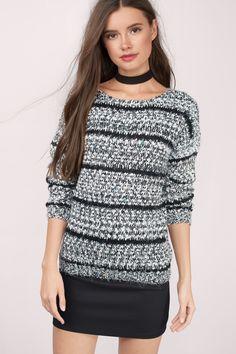 Beki Striped Sweater