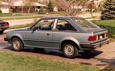 1982 Ford Escort. Back and forth to work car.