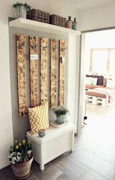 DIY Garderobe diy home pictures Diy Home Decor, Room Decor, Decoration Crafts, Sweet Home, Diy Casa, Diy Wardrobe, Wardrobe Ideas, Simple Wardrobe, Wardrobe Design