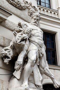 In the Hofburg, Vienna.