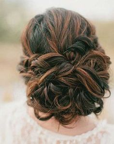 7.Prom Updo for Long Hair