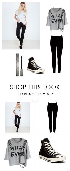 """""""Quickie"""" by sparkle-4 on Polyvore featuring Wet Seal, Warehouse, Converse and Burberry"""