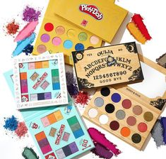 Makeup News: HIPDOT Game Night Makeup Collection Release Date - MONOPOLY, Play-Doh, Ouija Inspired Palettes HIPDOT x Hasbro is coming out with a new Game Night Makeup Collection — which will feature limited-edition makeup palettes inspired by MONOPOLY, Play-Doh, and Ouija Board. HIPDOT Game Night Makeup Collection Release Date: September 9, 2021. The HIPDOT Game Night Makeup Collection with eyeshadow palettes inspired by MONOPOLY, Play-Doh... Ouija, Play Doh, Night Makeup, Beauty News, Release Date, Beauty Industry, Makeup Palette, Game Night, Makeup Collection