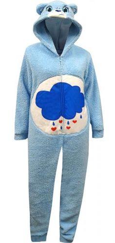 Care Bear Grumpy Bear Plus Size One Piece Pajama