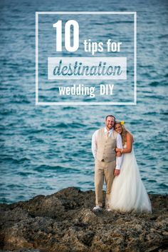 "TOP 10 | DIY destination wedding tips. On or around the 10th of every month we feature a ""Top 10 List"" to help brides & grooms during their planning process. This month we are sharing tips on how to incorporate DIY details into your destination wedding! This list was actually written for and featured on Destination I Do Magazine's wedding blog last week!"