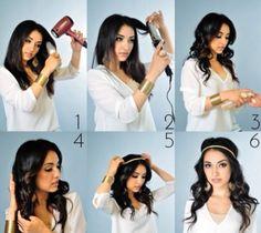 Chic boho hair tutorial.