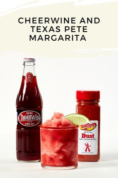 We're taking the frozen margarita to a new level with this collab with Texas Pete's Dry Seasoning Dust. Texas Pete, Margarita Drink, Beverages, Drinks, Sweet And Spicy, Hot Sauce Bottles, Yum Yum, Frozen, Southern