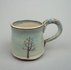 tree mug / Julia Smith Ceramics