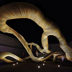 ribbon natural material nature  LEXUS | Search Exhibitors | TOKYO DESIGNERS WEEK2013