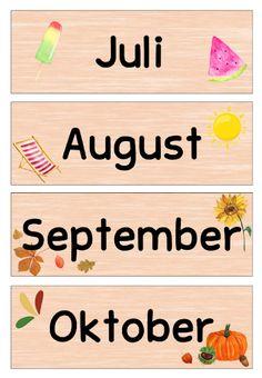 Classroom Management, Montessori, Kindergarten, September, Education, Blog, Homeschooling, German Language, Class Decoration