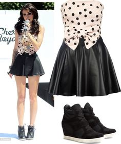 """Style of Cher Lloyd"" by cris-cali ❤ liked on Polyvore"
