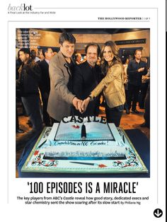 100th Episode article in The Hollywood Reporter