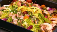 Curry med laks, rejer og bagte ris er en lækker opskrift af Gorm Wisweh fra Go' morgen Danmark, se flere fiskeretter på mad.tv2.dk