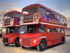 Photo by Paul Simpson Richard Branson, Routemaster, Double Decker Bus, North East England, Bus Coach, Red Bus, London Bus, London Transport, Busse