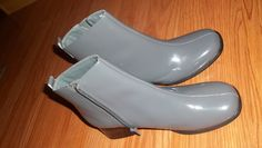 NICE! AJ VALENCI,NWOB, AUTHENTIC GRAY PATENT LEATHER,2.5INCH. HEELED BOOTS! UNIQUE STYLE!SZ.8M: http://www.outbid.com/auctions/10348-fashion-s-first-retro-retail-groovy-gadgets-express-your-innerself-jewelry#16