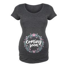 Coming Soon Maternity Tee