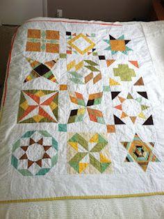 Summer sampler quilt - June Craft
