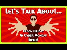 Let's Talk about... Black Friday & Cyber Monday Deals!! THE BEST DEALS: https://twitter.com/lockergnome  https://deals.lockergnome.com/ Razer Laptops http://www.fyitrack.com/?12DD0F71 Get Gift Cards: http://go.tagjag.com/freepoints  GADGET STUFF  http://deals.lockergnome.com/ PODCAST    http://anchor.fm/chrispirillo TLDR   https://youtube.com/lockergnome/live Patreon  https://www.patreon.com/ChrisPirillo Twitch  https://www.twitch.tv/chrispirillo Click the  icon to get notified for new…