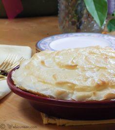 Sugar-Free Lemon Meringue Pie by Webicurean