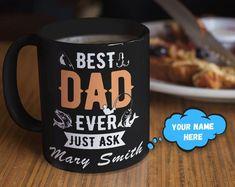 Funny Wizard mug for dad, Dad father's day mug gift Coffee Mug Quotes, Funny Coffee Mugs, Funny Mugs, Best Dad Gifts, Gifts For Husband, Gifts For Family, Dad Dad, Dads, Fathers Day Mugs