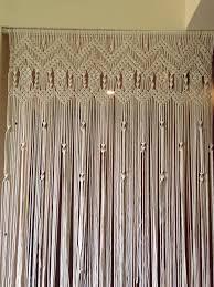 Resultado de imagem para macrame curtains and room dividers