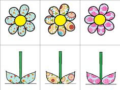 memory bloemen deel 1 Spring Crafts For Kids, Projects For Kids, Spring Plants, Spring Flowers, Spring Activities, Preschool Activities, Theme Nature, Activity Bags, Kids Patterns
