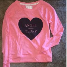 NWOT Victoria's Secret Pink Angel Sweatshirt SZ XS MOVING SALE PRICE FIRM! NWOT Victoria's Secret Pink Angel Sweatshirt SZ XS! Never worn! Purchased online so it didn't come with tags and I can't find the plastic wrap. So- NWOT! ❤️Love to bundle❌No trades & No PayPalThanks for looking! Victoria's Secret Tops Sweatshirts & Hoodies