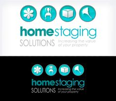 14 best home staging logos images on pinterest role play staging logo business card by johnthomas designs colourmoves