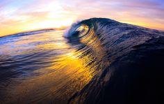 Sunset curl.