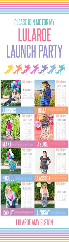New inventory (dresses, skirts, leggings and shirts) will be here in July 2016! Follow me for my launch party and giveaways! LuLaRoe Amy Elston #lularoe