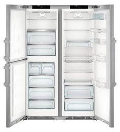 Liebherr SBSes 8483 BioFresh und NoFrost Side-by-Side Kombination Top Freezer Refrigerator, French Door Refrigerator, Apple Shop, Energy Consumption, Aluminium, Kitchen Appliances, Products, Water Dispenser, Accessories