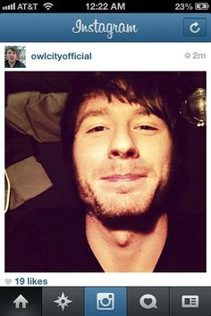 Sneaky Adam who takes awesome selfies and puts them on Instagram for 2 seconds. ;) Look at Adam's apple, my god...